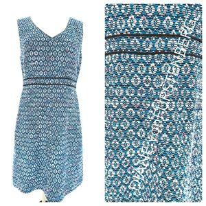 DIANE vonFURSTENBERG Tweed dress Sz 8